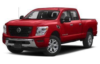 2020 Nissan Titan XD - Cardinal Red Pearl