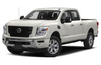 2020 Nissan Titan XD - Pearl White