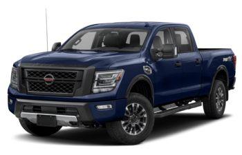 2020 Nissan Titan XD - Deep Blue Pearl