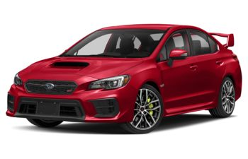 2020 Subaru WRX STI - Pure Red