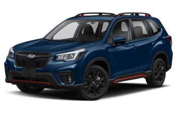2020 Subaru Forester - Dark Blue Pearl