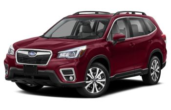 2020 Subaru Forester - Crimson Red Pearl
