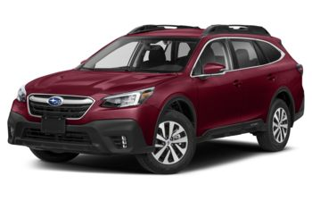 2020 Subaru Outback - Crimson Red Pearl