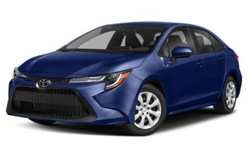 2020 Toyota Corolla - Blueprint
