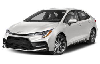 2020 Toyota Corolla - Super White