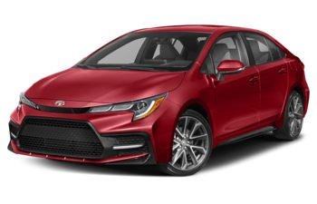 2020 Toyota Corolla - Barcelona Red Metallic