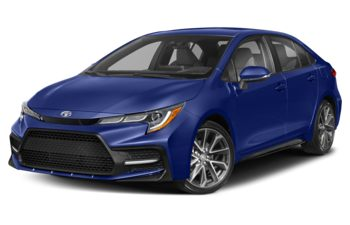 2020 Toyota Corolla - Blue Crush Metallic
