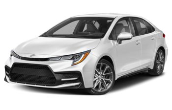 2021 Toyota Corolla - Super White w/Black Roof