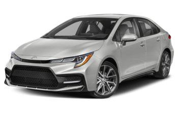 2021 Toyota Corolla - Blizzard Pearl w/Black Roof