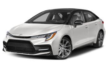 2021 Toyota Corolla - Classic Silver Metallic w/Black Roof