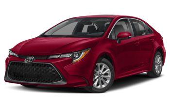 2021 Toyota Corolla - Barcelona Red Metallic
