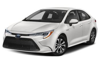 2020 Toyota Corolla Hybrid - Super White