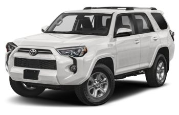 2021 Toyota 4Runner - Super White