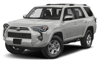 2021 Toyota 4Runner - Classic Silver Metallic