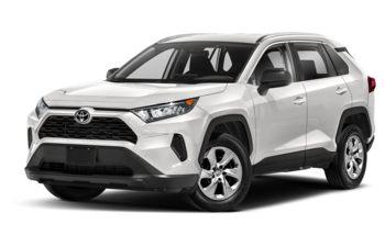 2021 Toyota RAV4 - Super White