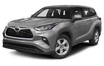 2021 Toyota Highlander - Celestial Silver Metallic