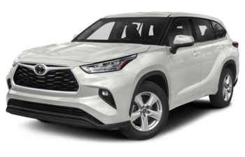 2021 Toyota Highlander - Blizzard Pearl