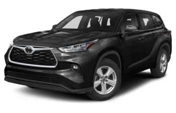 2021 Toyota Highlander - Midnight Black Metallic