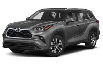 2020 Toyota Highlander - Magnetic Grey Metallic