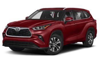 2020 Toyota Highlander - Ruby Flare Pearl
