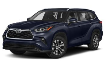 2020 Toyota Highlander - Blueprint