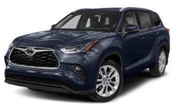 2020 Toyota Highlander - Blueprint