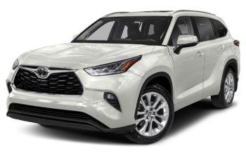 2020 Toyota Highlander - Blizzard Pearl