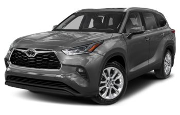 2021 Toyota Highlander - Magnetic Grey Metallic