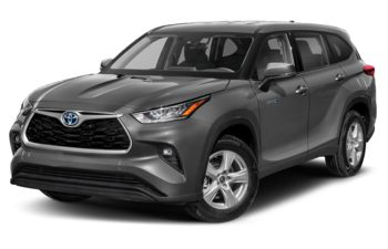 2021 Toyota Highlander Hybrid - Magnetic Grey Metallic