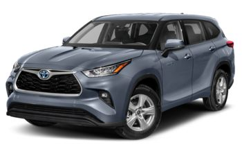 2021 Toyota Highlander Hybrid - Midnight Black Metallic