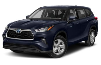 2020 Toyota Highlander Hybrid - Blueprint