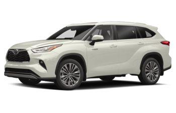 2020 Toyota Highlander Hybrid - Blizzard Pearl