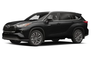 2020 Toyota Highlander Hybrid - Midnight Black Metallic