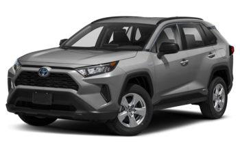 2021 Toyota RAV4 Hybrid - Silver Sky Metallic