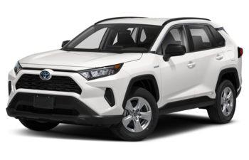 2021 Toyota RAV4 Hybrid - Super White