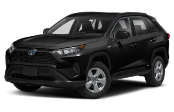 2021 Toyota RAV4 Hybrid - Midnight Black Metallic