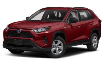 2020 Toyota RAV4 Hybrid - Ruby Flare Pearl