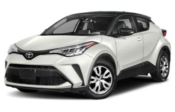 2020 Toyota C-HR - Blizzard Pearl with Black Roof