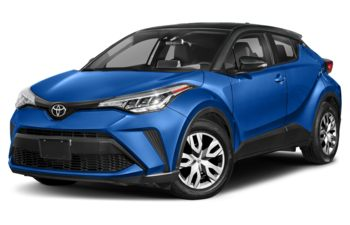 2021 Toyota C-HR - Magnetic Grey w/Black Roof