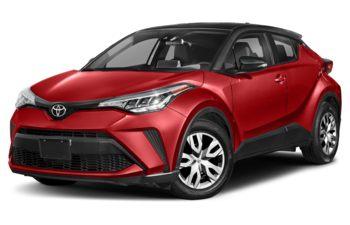 2020 Toyota C-HR - Blue Eclipse Metallic w/Black Roof