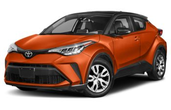 2021 Toyota C-HR - Supersonic Red w/Black Roof