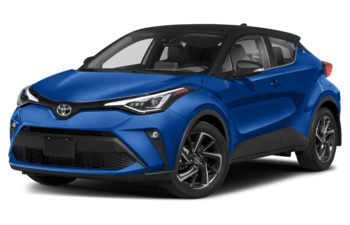2020 Toyota C-HR - Silver Knockout Metallic with Black Roof