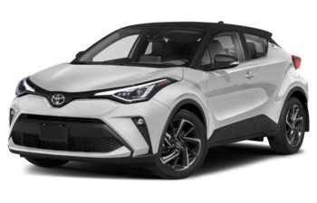 2020 Toyota C-HR - Black Sand Pearl w/Silver Knockout Metallic Roof