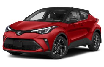 2020 Toyota C-HR - Hot Lava w/Black Roof