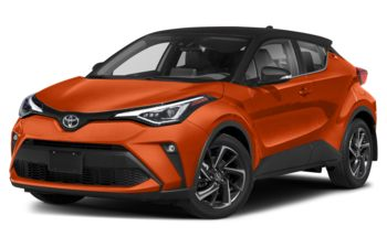 2021 Toyota C-HR - Magnetic Grey w/Black Roof