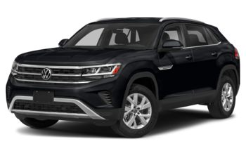 2021 Volkswagen Atlas Cross Sport - Deep Black Pearl