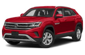 2020 Volkswagen Atlas Cross Sport - Aurora Red Chroma
