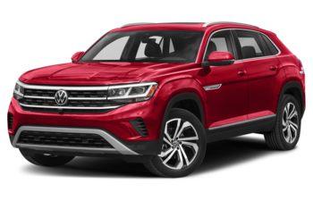 2021 Volkswagen Atlas Cross Sport - Aurora Red Chroma