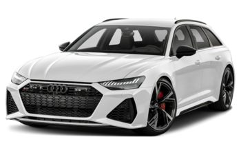 2021 Audi RS 6 Avant - Glacier White Metallic