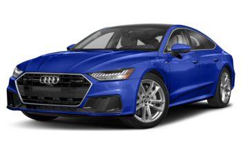 2021 Audi A7 e - Navarra Blue